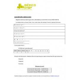 Suscripción IBERICO BOX