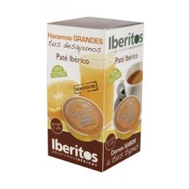 Paté ibérico pack 5 uds. de 25 gr.